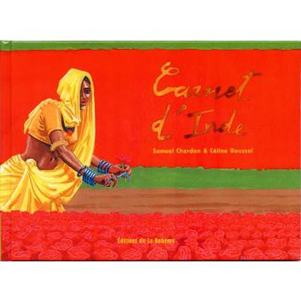 Carnet d'Inde / Samuel CHARDON | CHARDON, Samuel