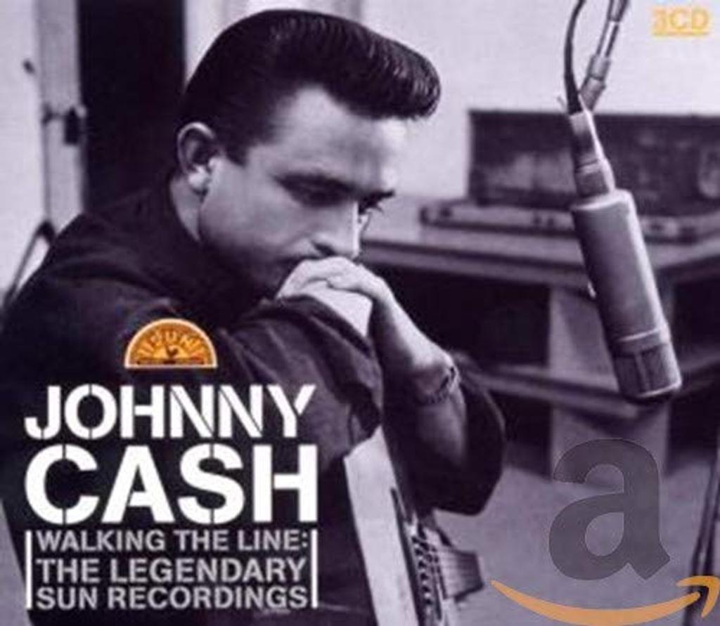 Walking the line : The Legendary sun recordings [disque1] / Johnny Cash, guit. chant.   CASH, Johnny. Interprète