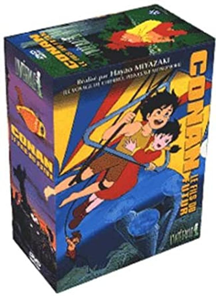 Conan, le fils du futur, vol. 1 / réalisateur de film Hayao Miyazaki   Miyazaki, Hayao (1941-....). Monteur