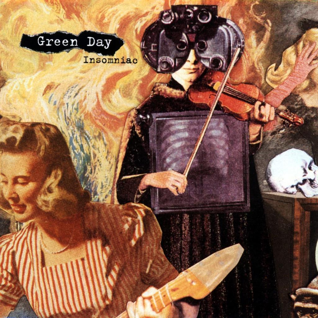 Insomniac / Green Day, gr. voc. et instr.   GREEN DAY. Parolier. Compositeur. Interprète