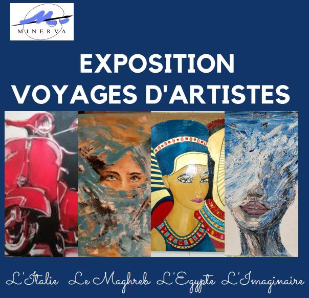 Exposition voyages d'artistes |