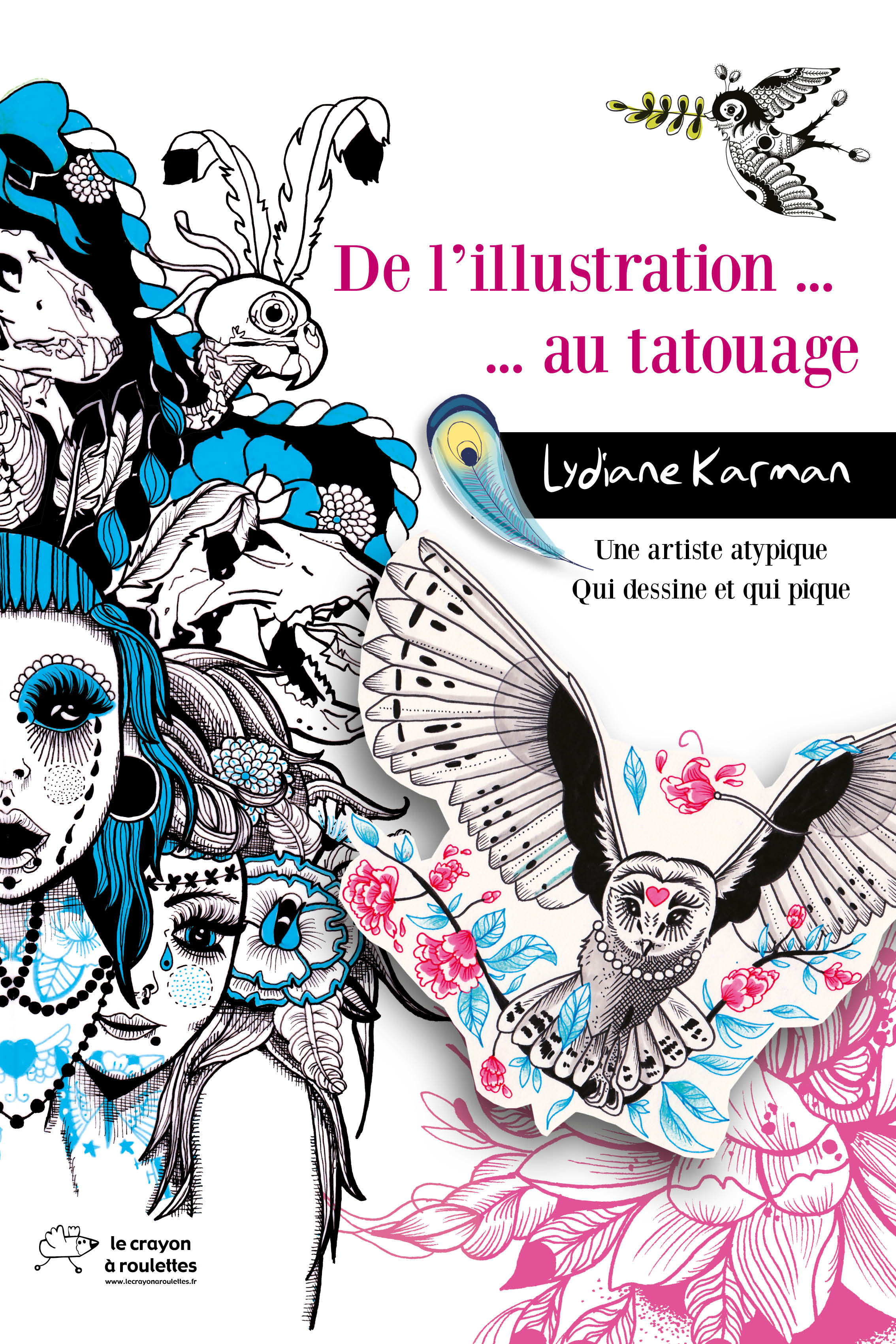 "EXPOSITION Lydiane Karman ""De l'illustration au tatouage"" 
